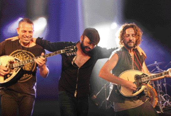 יאמאס מארחים את <br>Trio Flamenco Del Alma
